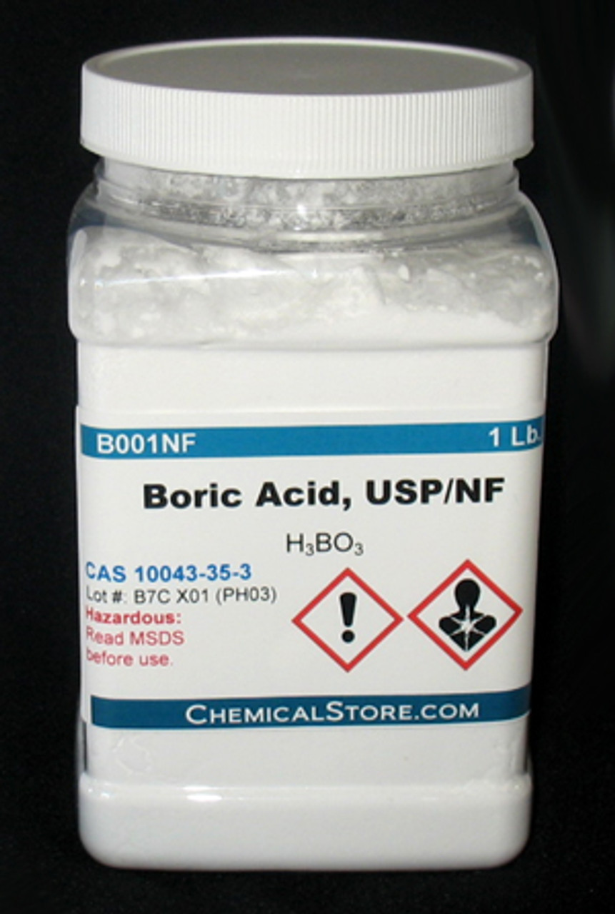 Boric Acid NF/USP Grade, Powder