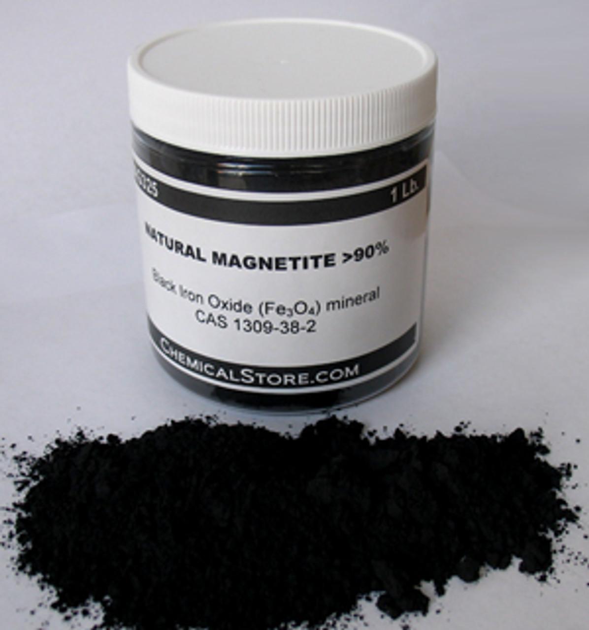Magnetite, Natural, Mesh 325