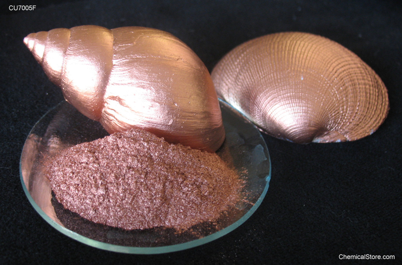 Copper Powder, Flaked, Waxed, Pigment