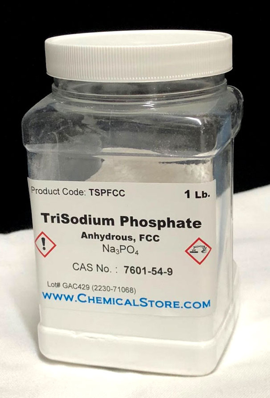 Trisodium Phosphate (TSP), FCC, >97%