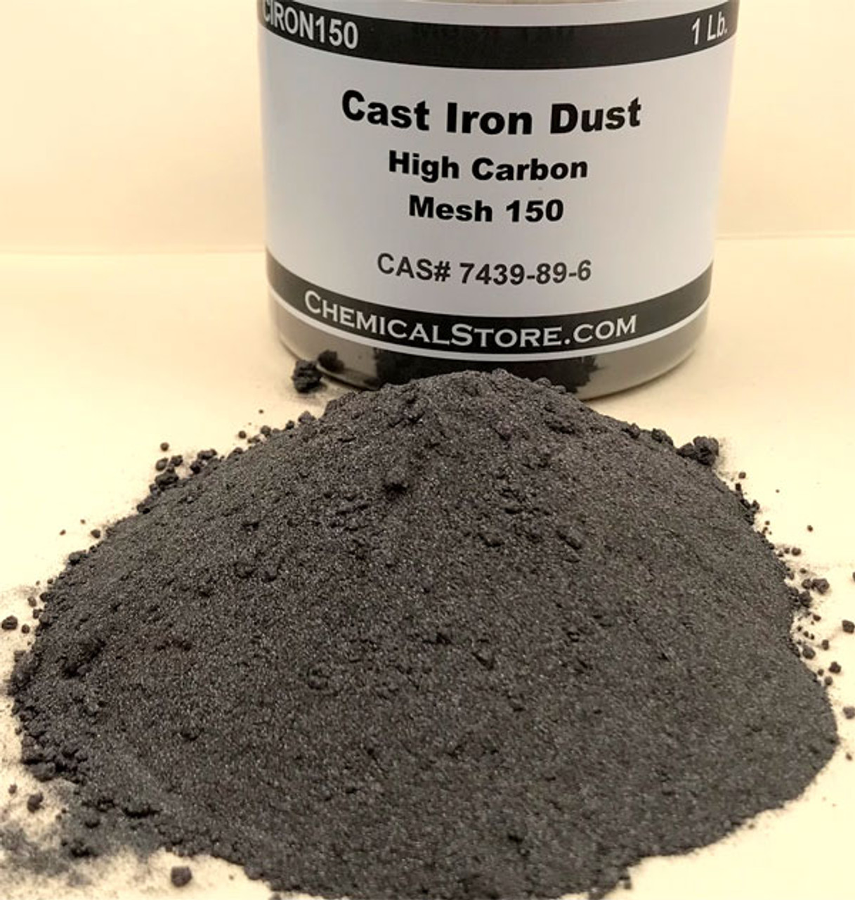 Cast Iron Dust, blend with graphite