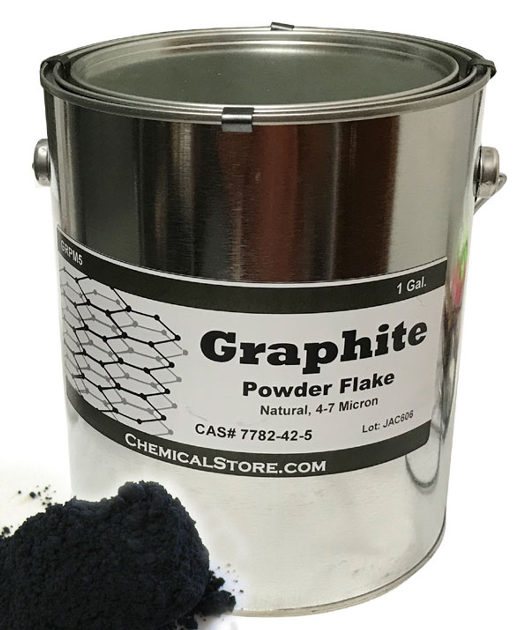 Conductive and lubricant graphite that creates metallic shine in one gallon can.