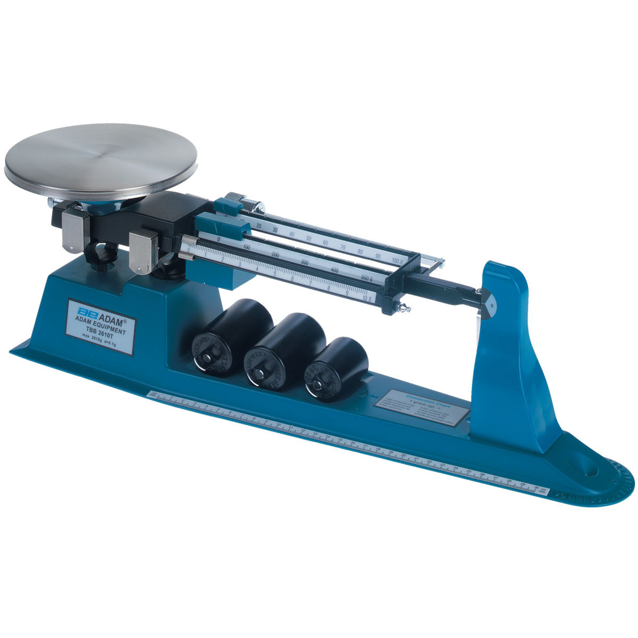 Laboratory balance scale, Single pan, triple beam, soft move quick balance.