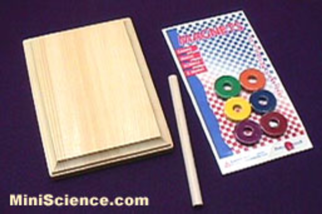 Materials of floating ring science kit