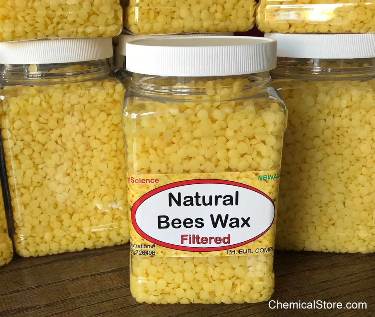 Natural Beeswax filtered and granulated