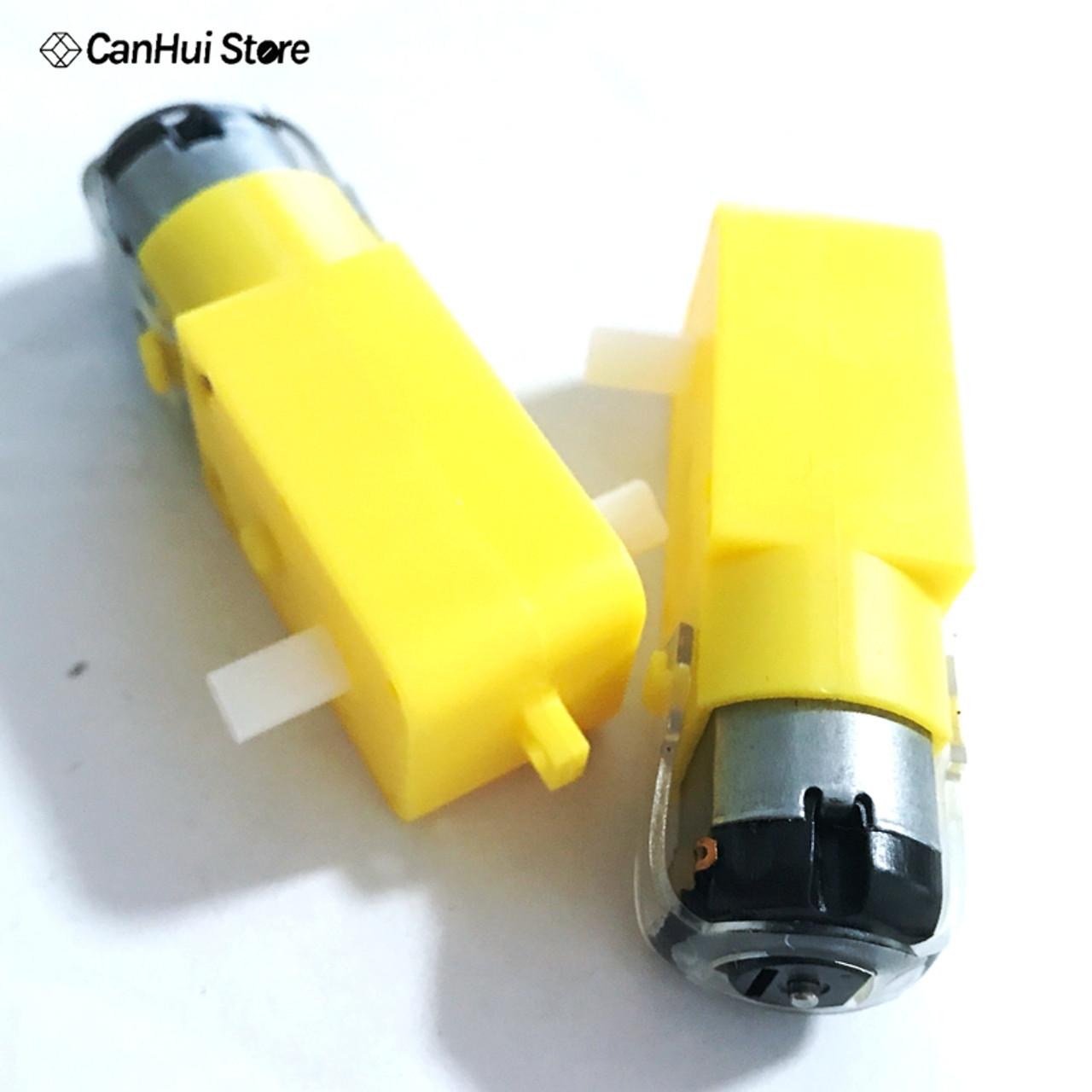 DCGM130TT low speed gear motor shaft extends in two sides.
