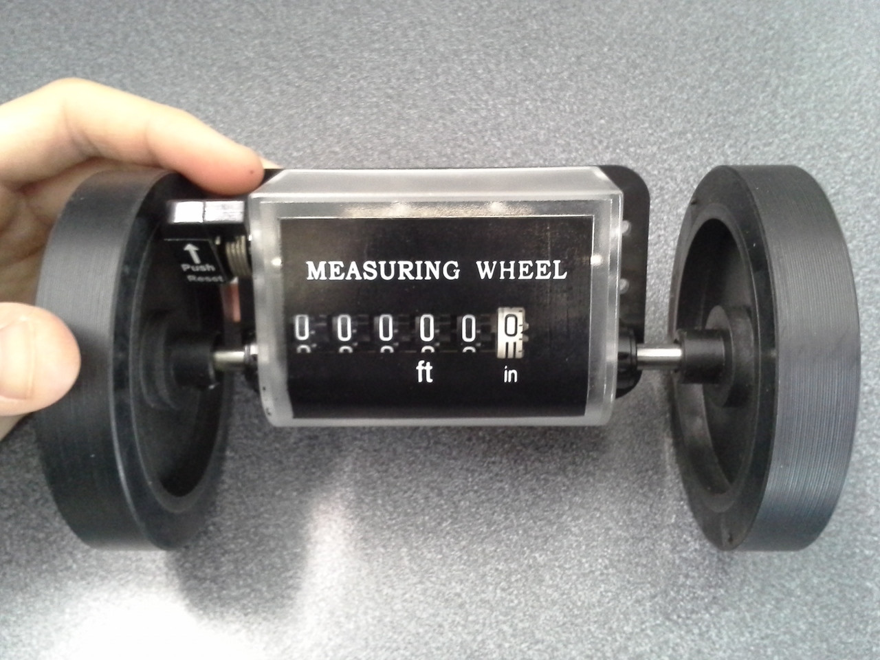 Feet Counter, Distance Measuring Wheels (Feet  & Inches)