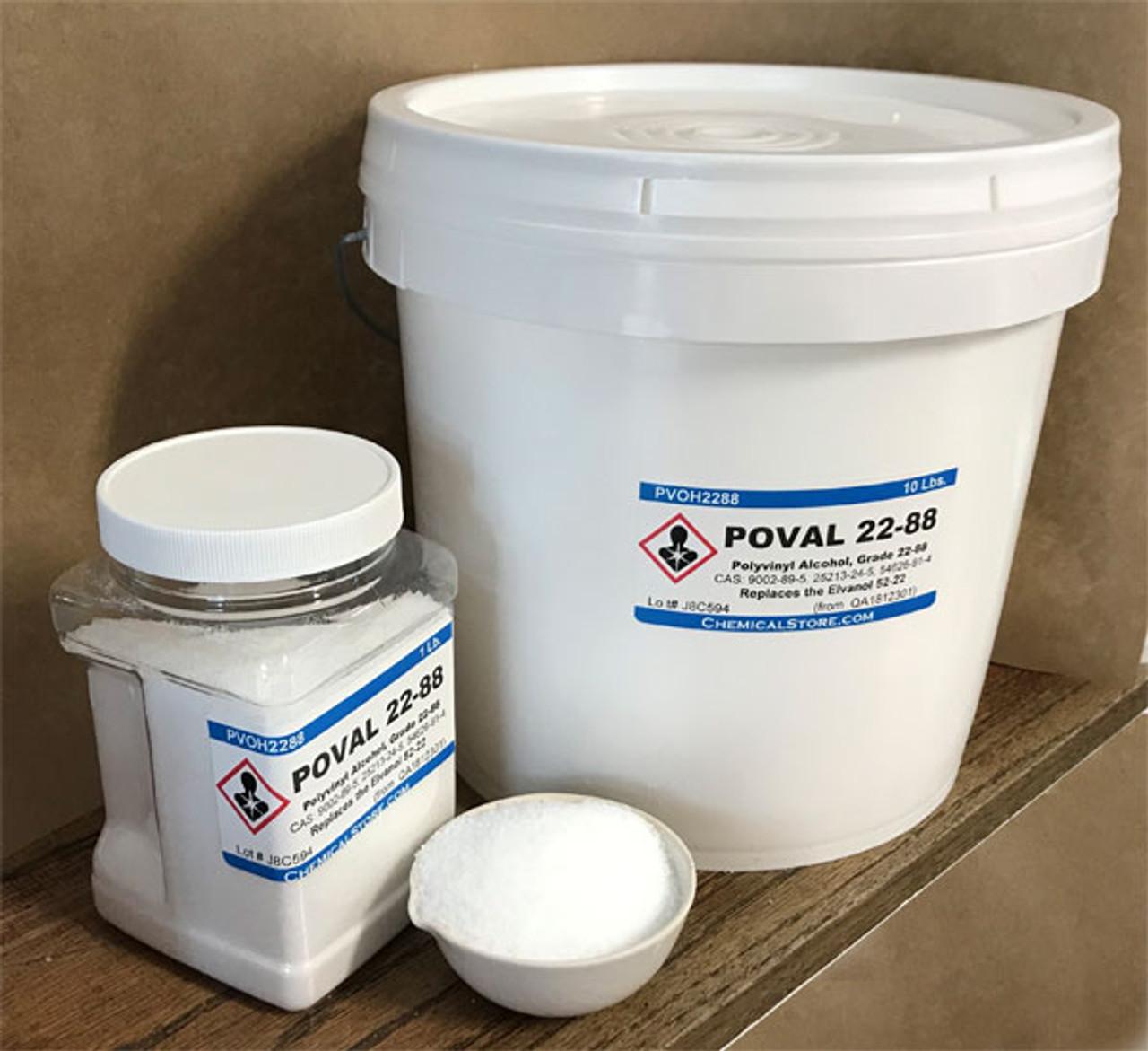 Polyvinylalcohol grade 22-88, PVA 217, Elvanol 52-22