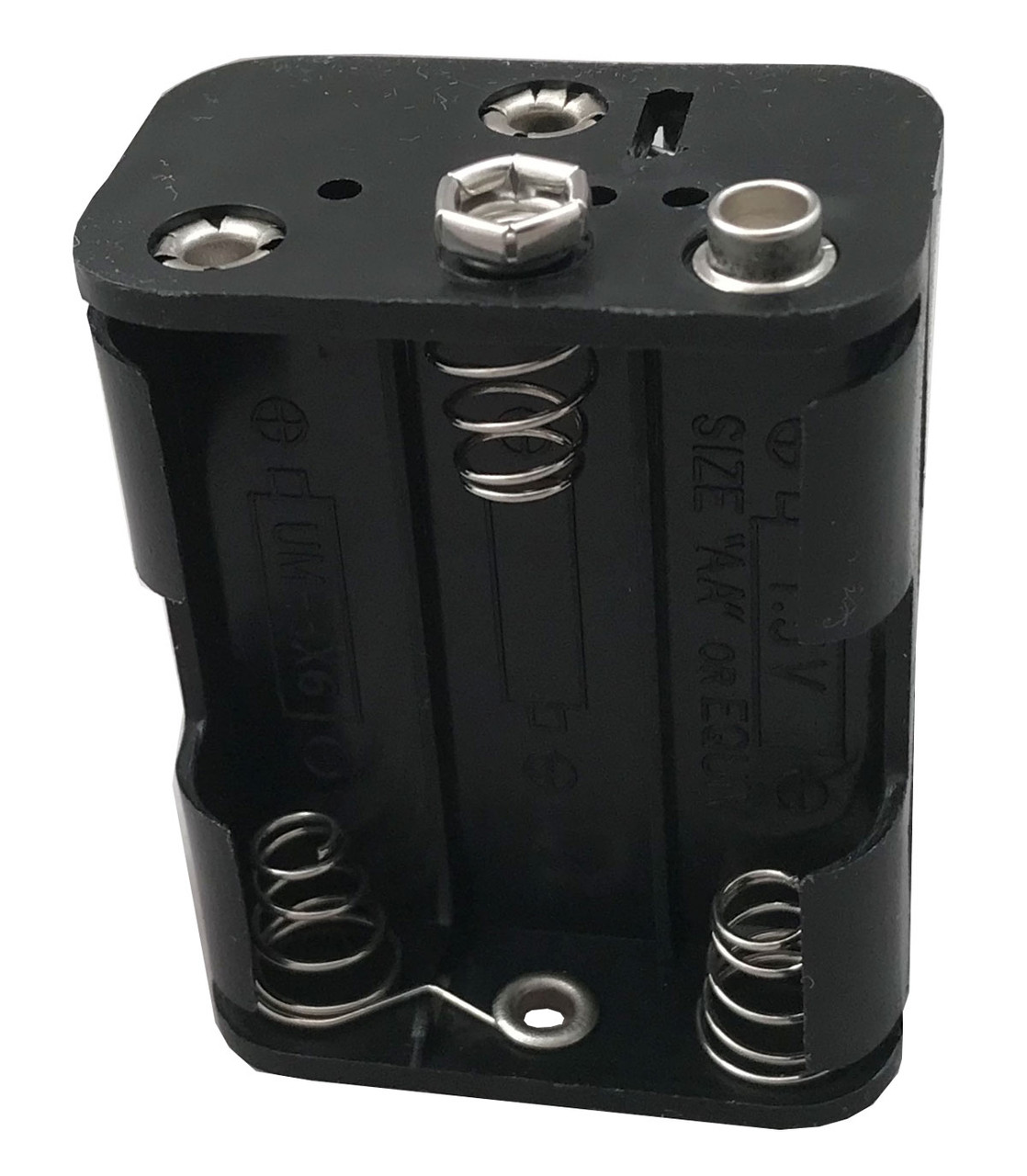 9-volt battery box offers savings and longer life