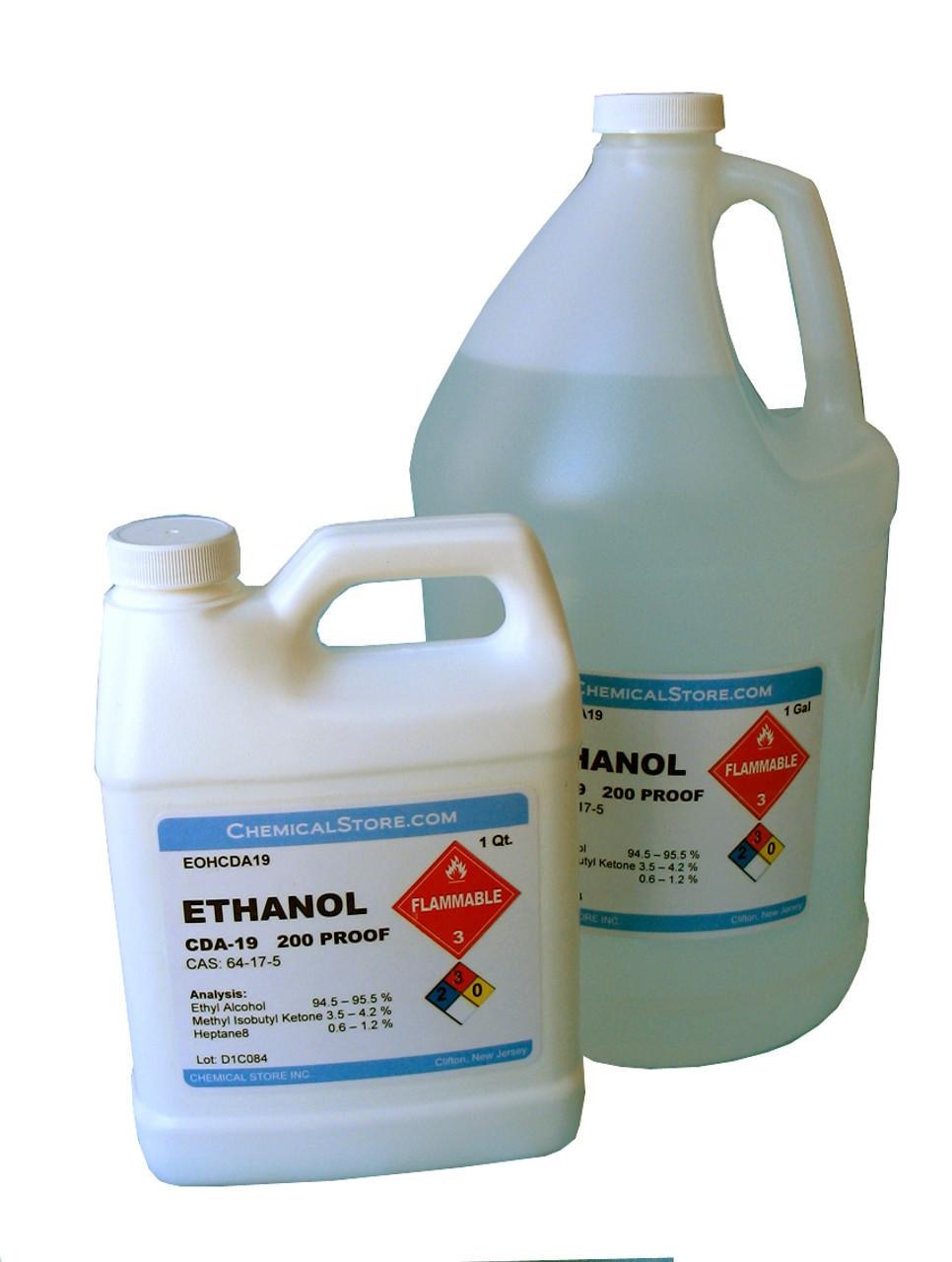 Ethyl Alcohol, Ethanol, Denatured