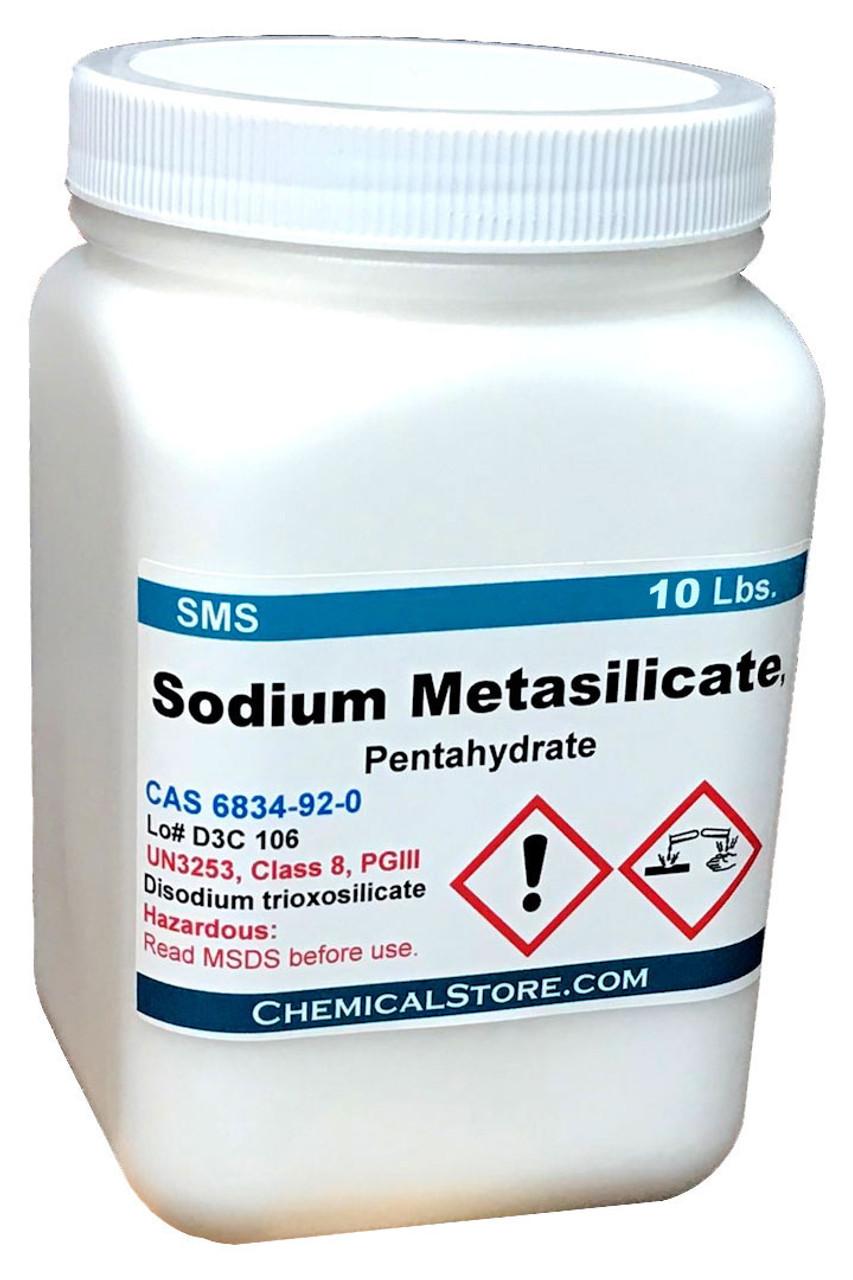 Sodium Metasilicate, Powder