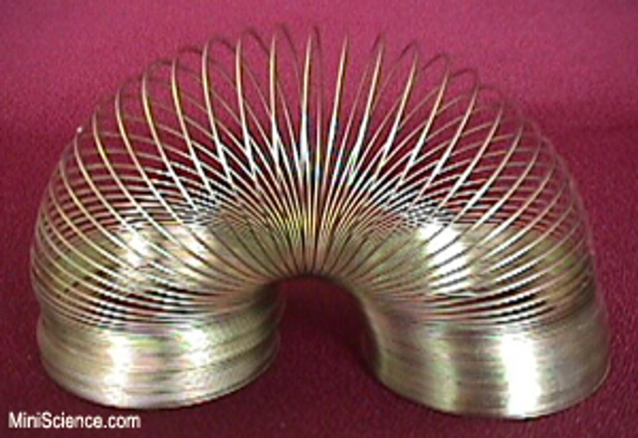 Metal coil spring, slinky 75 mm