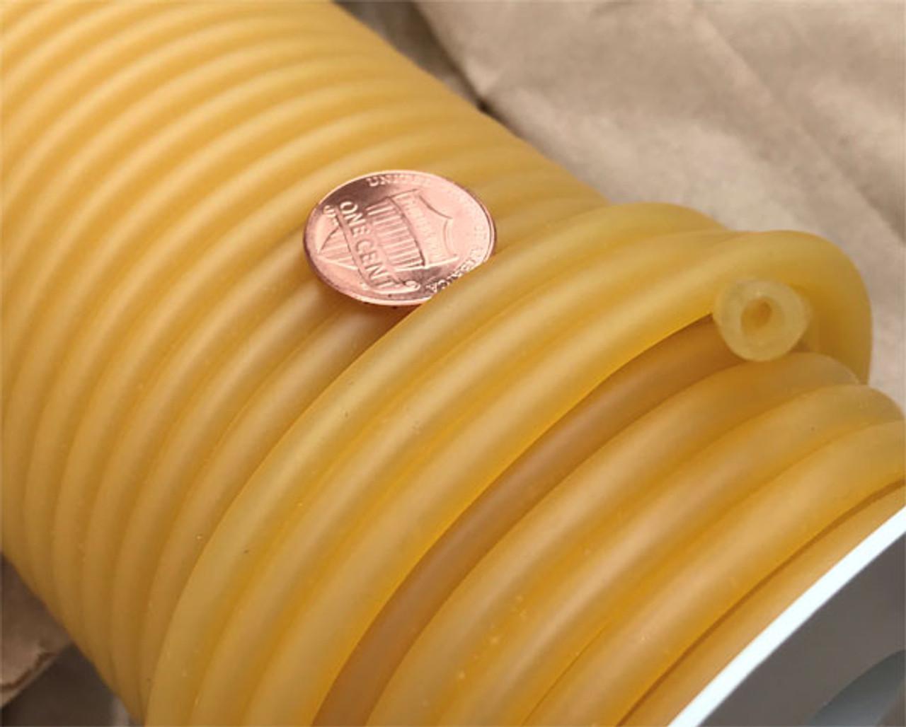 """Rubber tube,  1/8"""" inner diameter, Thin wall (3/64"""")"""