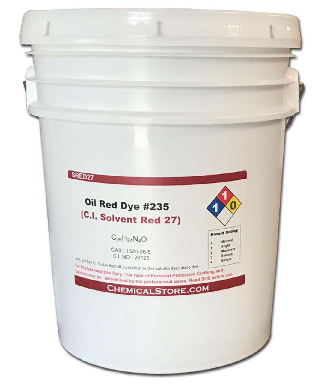 Solvent Red 27, Sudan Red 5B, Sudan Oil Red O, 60 grams