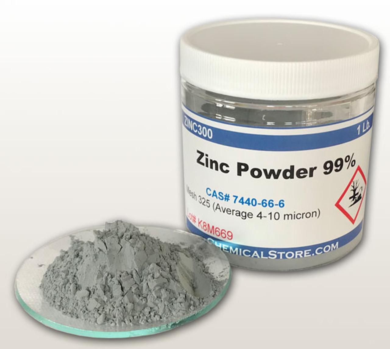Zinc Powder Micronized (Fine Zinc Metal Powder, Mesh 325)