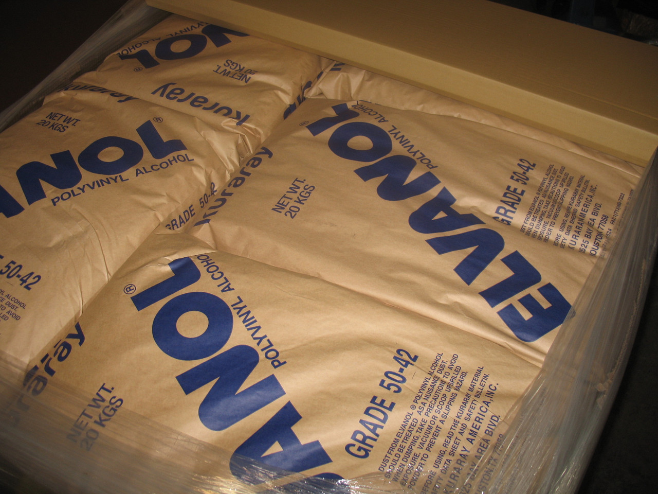 Polyvinylalcohol grade 49-88, Elvanol 50-42