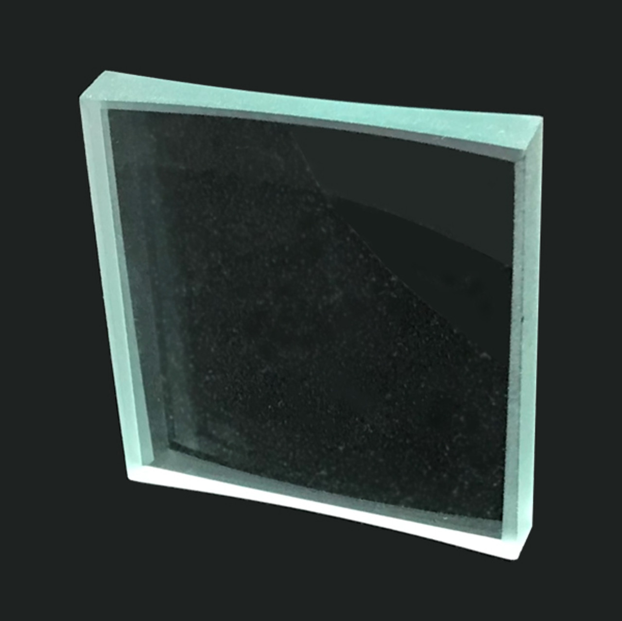 Glass Cylindrical Lens, Bi-Concave 50x45mm, Power: 7D