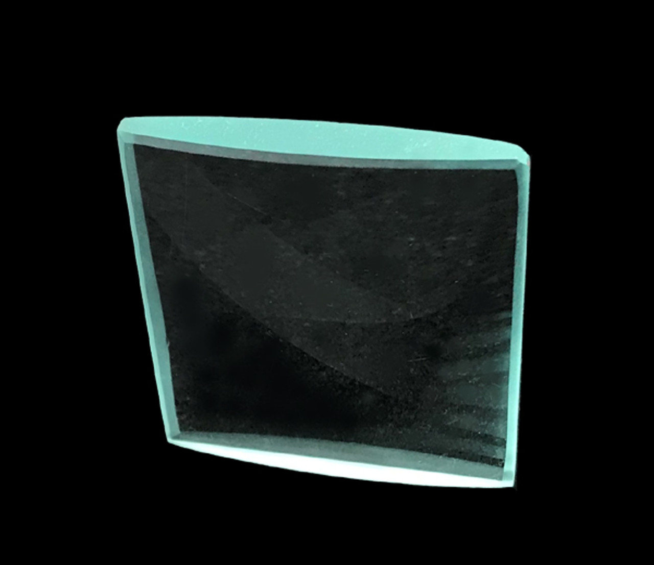 Glass Cylindrical Lens, Bi-Convex 50 x 45 mm, Power: 7D