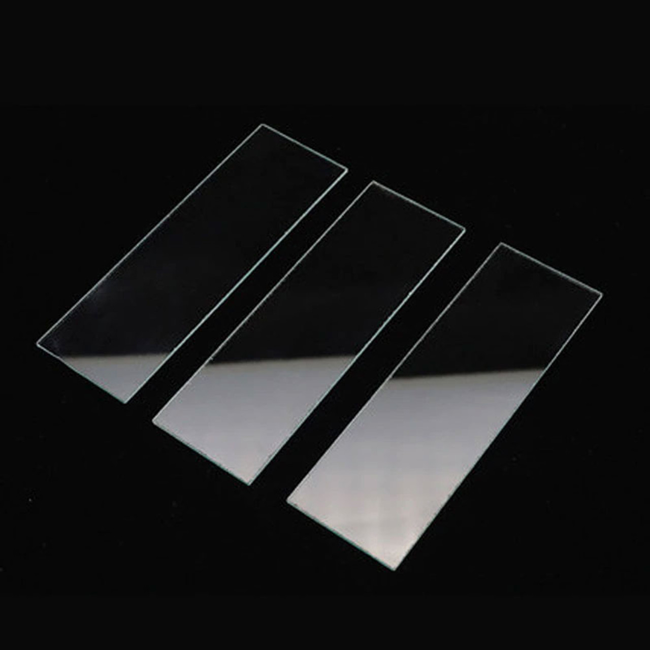 Glass Microscope Slides and Slide Covers (100 pcs each)