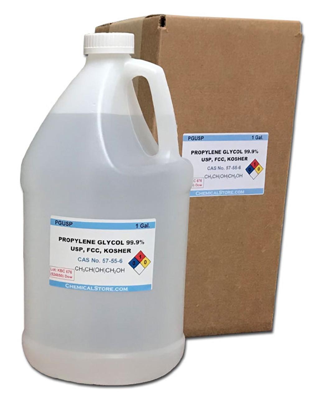 Propylene glycol, 99.8%, USP, Kosher