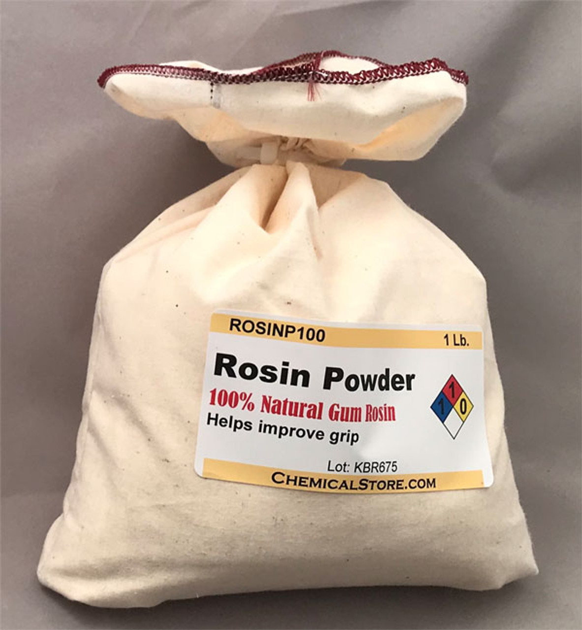 Natural Rosin Powder in cotton bag
