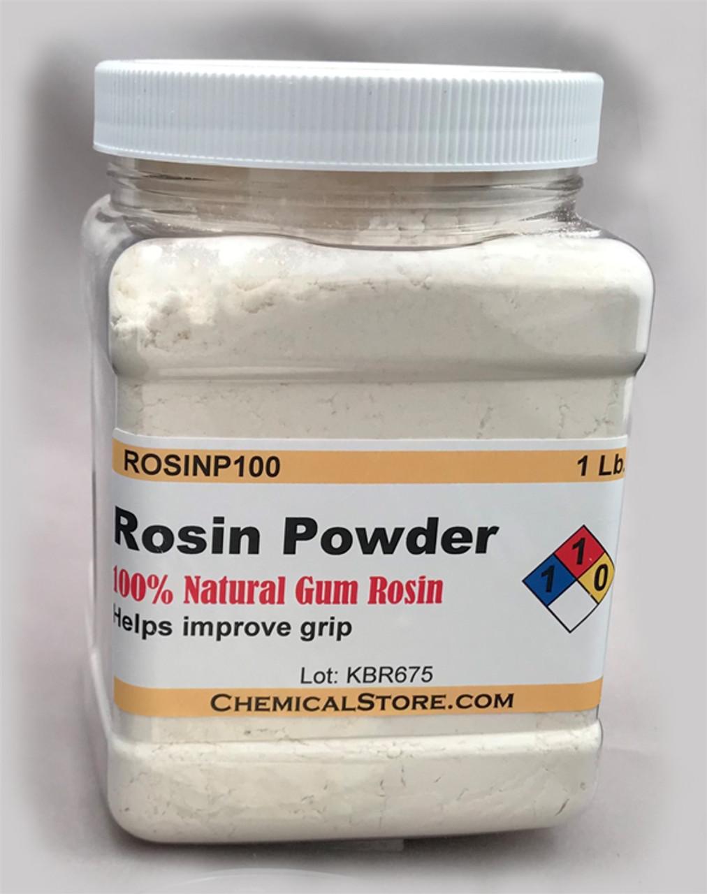 Rosin powder is packaged in square PET grip Jars
