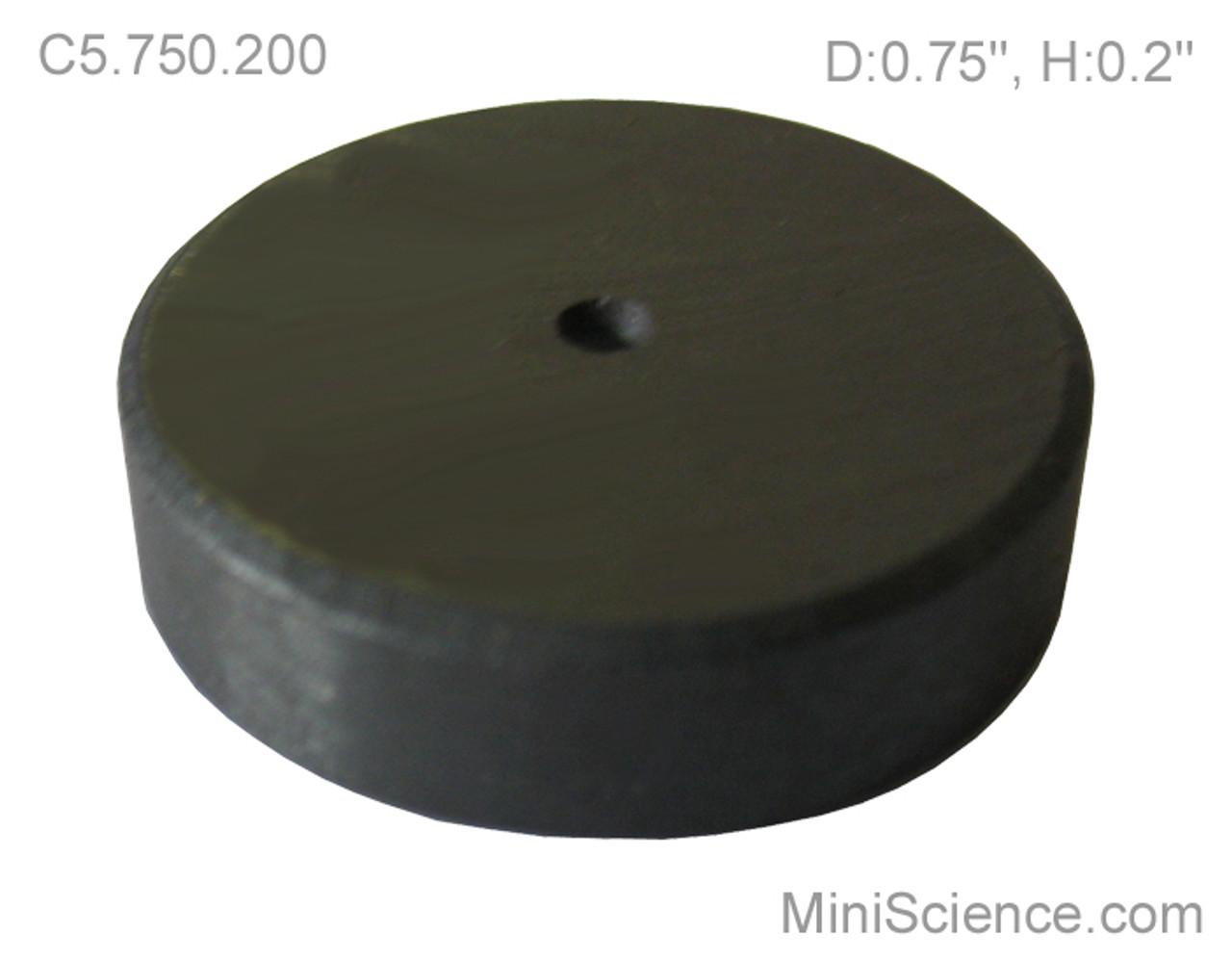 Ceramic Disk Magnet, 3/4 inch diameter, Wholesale