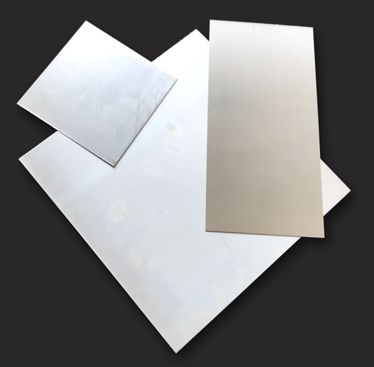 "Zinc Plate, Strip of zinc sheet metal (3"" x 12""), Thickness 0.030"" or 0.75 mm,"