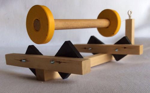 Floating Wheels (Frictionless Bearing)