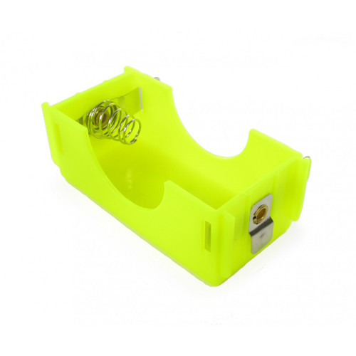 Linkable battery holder D size in Yellow color