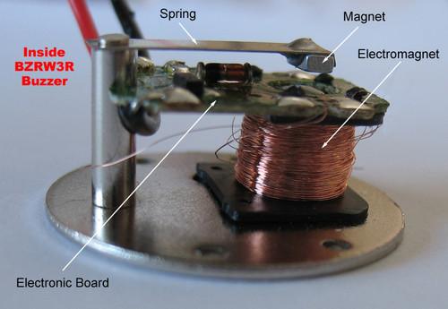 Inside the BZRW3R buzzer in details