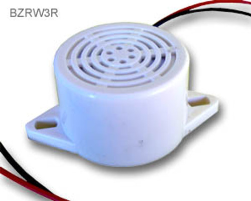 Low voltage small round buzzer
