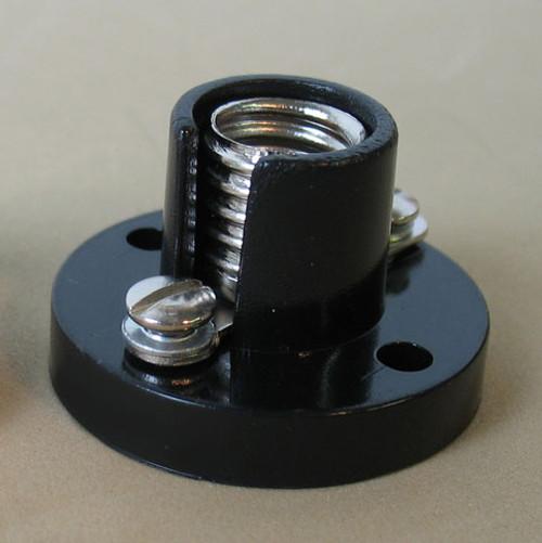 Mini Cleat Lampholder, Mini Cleat Receptacle, Lamp Base Size E10.