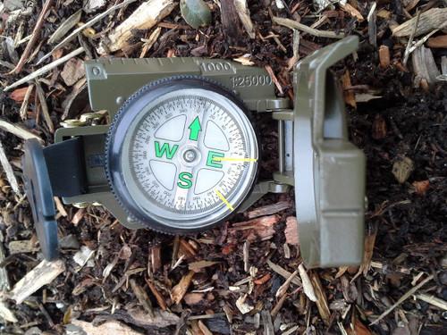Military Lensatic Compass