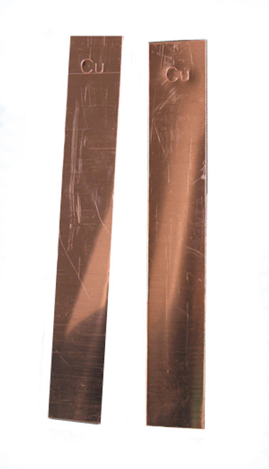 Copper Electrode, Flat, Copper Anode, One piece