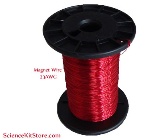 Enameled copper wire (Magnet Wire), 23 AWG, 250 Feet