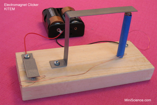 Make an electromagnet clicker