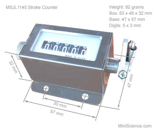 Mechanical Industrial Counter, 5 Digit