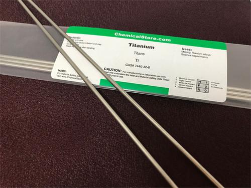 Titanium Rod, Commercial Grade 2