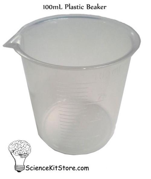 Beaker 100mL, Polypropylene