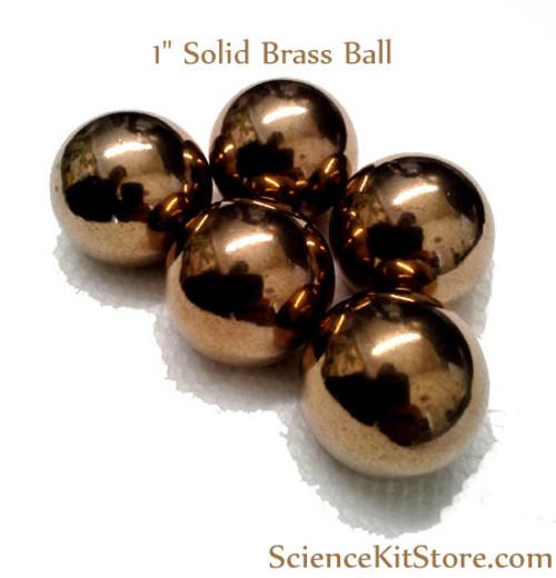 "Brass Ball, 1"" Solid"