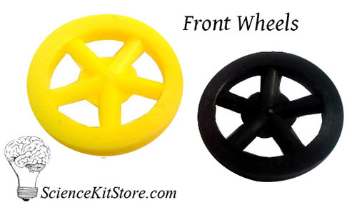 Plastic Front Wheels (Pack of 100)