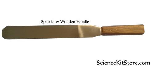 """Spatula Wooden Handle 10"""""""