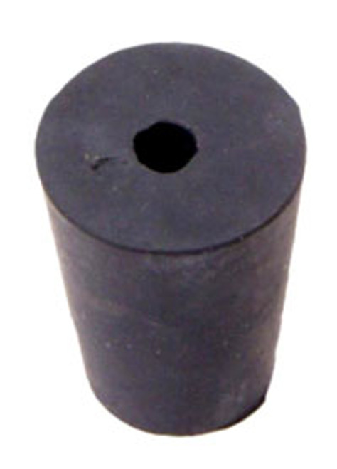 Rubber Stopper, 1 Hole (Select Size)