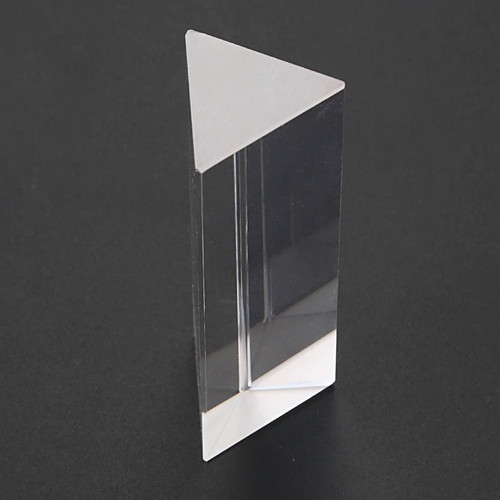 Equilateral glass prism 25mm x 50mm