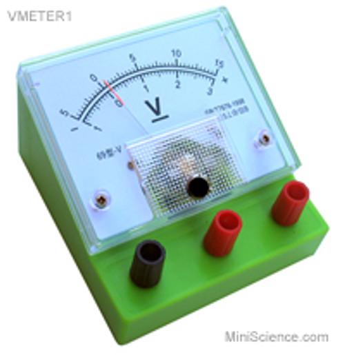 Voltmeter, Desktop, Dual Range