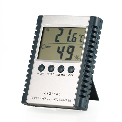 Indoor - outdoor thermometer hugrometer weather station.