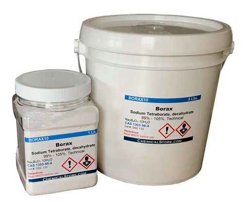 Borax 99.9% (Sodium Tetra Borate, Decahydrate) High Purity
