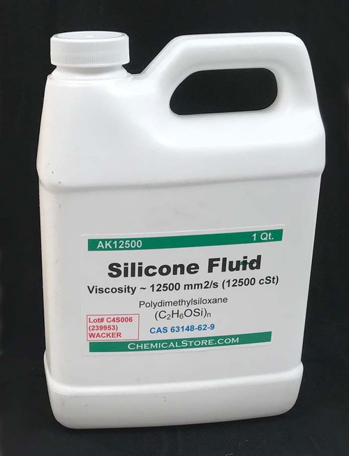 Silicone Fluid, 12500 Cst.
