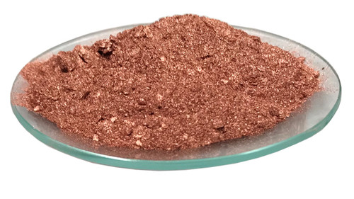 Art grade copper powder with metallic shine for making metallic inks and paints. CU7005F is miscible and compatible with most resins including polyurethane, polyacrylic, polyester and drying oils such as linseed oil. It can also be mixed with conductive resins to make conductive ink.
